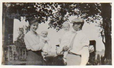 Mary, Frances, Margaret & Arza