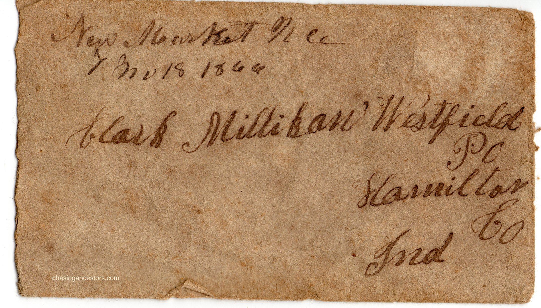 1866 letter envelope copy
