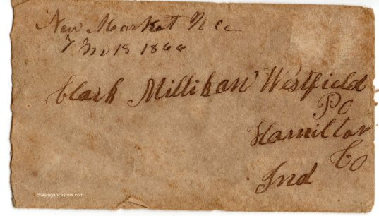 1866 letter envelope copy
